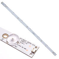 LED планка лампа подсветки ЖК телевизора 32 614мм GJ-2K15 D2P5-315 D307-V1