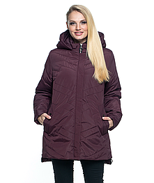 Женская демисезонная куртка батал 54- 70