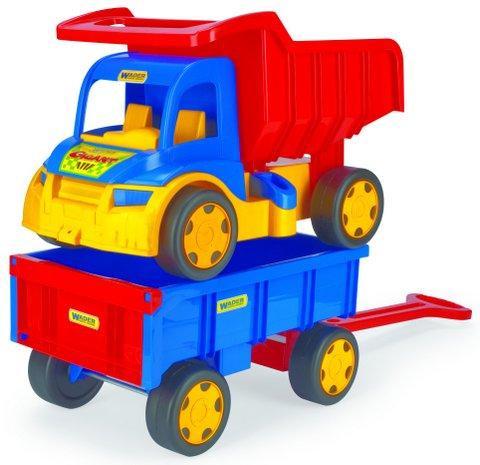Wader Gigant Truck Грузовик с прицепом 65100