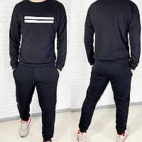 Спортивный костюм мужской чёрный, хаки, графит, 46, 48, 50, 52