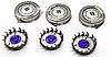 Леза змінні головки Philips HQ56 / 50 Lift & Cut Філіпс HQ8 комплект 3 штуки