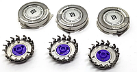 Леза змінні головки Philips HQ56 / 50 Lift & Cut Філіпс HQ8 комплект 3 штуки, фото 1