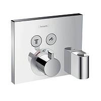 Термостат Hansgrohe ShowerSelect, для 2 потребителей, СМ, фото 1