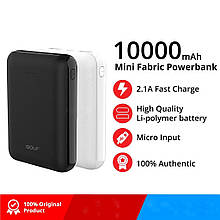 Power Bank 10000 mAh GOLF 100% ёмкости