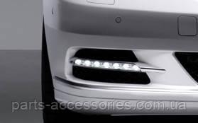 Новый оригинал правая туманка диод LED в бампер Mercedes S W221 221 рестайлинг