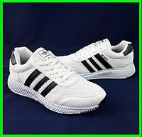 Кроссовки Мужские Adidas Iniki Runner Boost Белые Адидас (размеры: 40,41,43) Видео Обзор