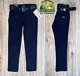 Костюм для мальчика 7-8 лет: светлая рубашка и темные брюки, фото 4