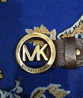 Ремень Michael Kors 4см кожа + подарок, ремни michael kors, ремень мишель корш реплика, ремень мишель корш