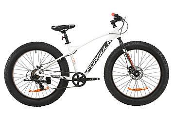 """Велосипед AL 26"""" Formula PALADIN DD 2020 (бело-серый с оранжевым (м))"""
