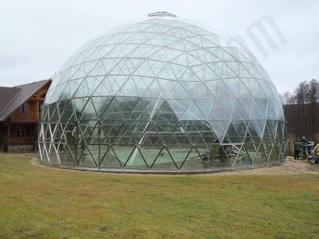 Защитный купол F8 для 14-метровой пирамиды