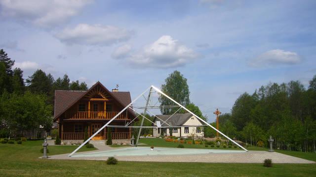Защитный купол F8 для 14-метровой пирамиды 1