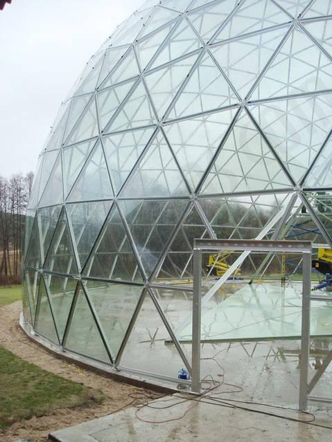 Защитный купол F8 для 14-метровой пирамиды 2