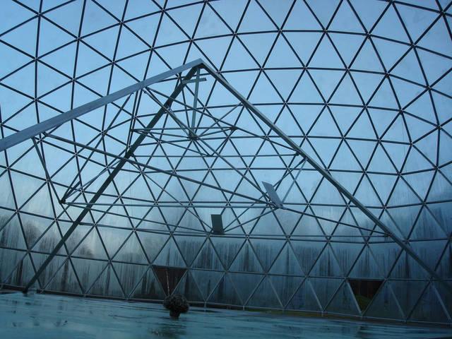 Защитный купол F8 для 14-метровой пирамиды 4