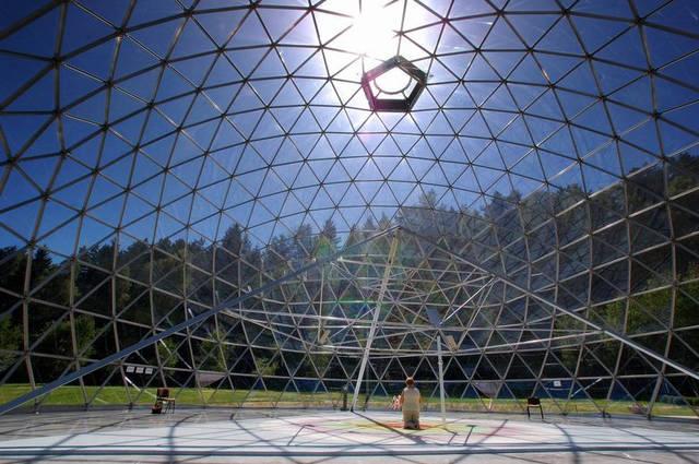 Защитный купол F8 для 14-метровой пирамиды 6