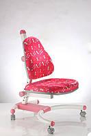 Детское мягкое кресло на колёсиках К639 red