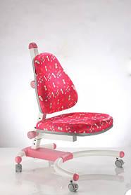 Дитяче м'яке крісло на коліщатках К639 red