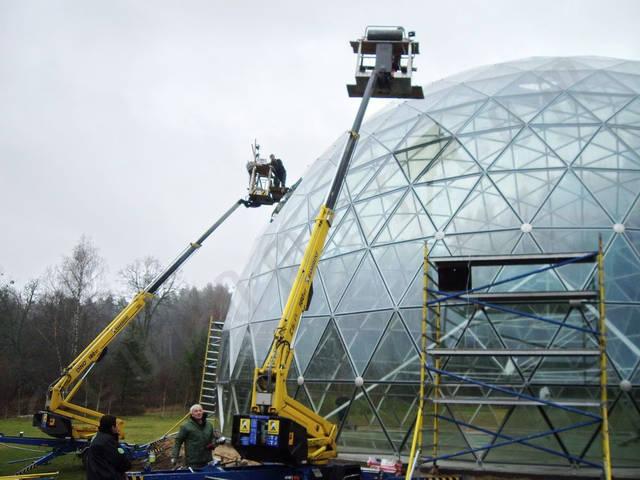 Защитный купол F8 для 14-метровой пирамиды 8