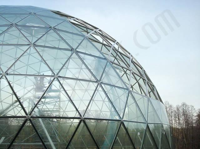 Защитный купол F8 для 14-метровой пирамиды 9