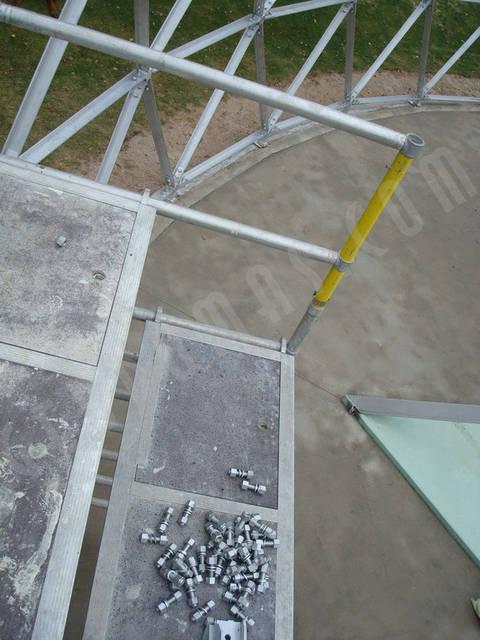 Защитный купол F8 для 14-метровой пирамиды 12