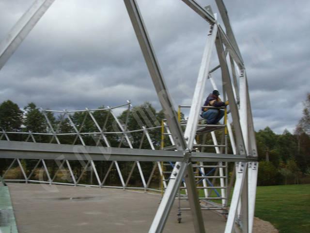 Защитный купол F8 для 14-метровой пирамиды 14