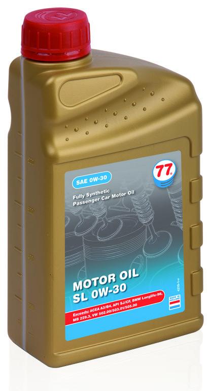 Motor Oil SL 0W-30
