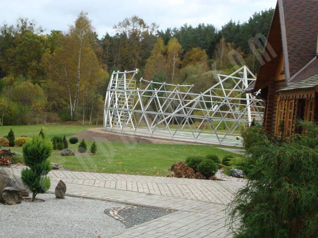 Защитный купол F8 для 14-метровой пирамиды 16