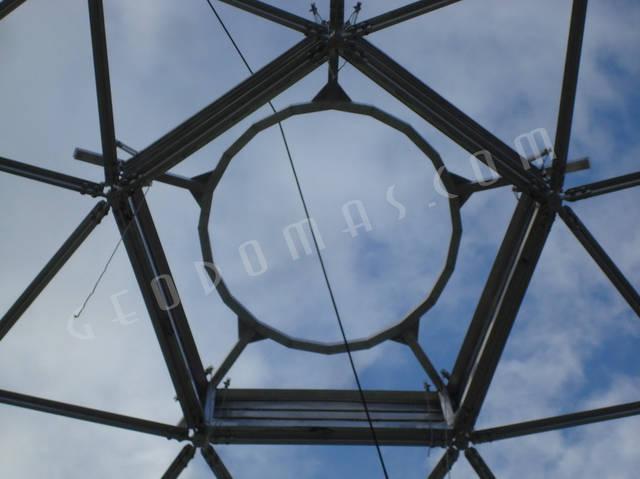 Защитный купол F8 для 14-метровой пирамиды 17