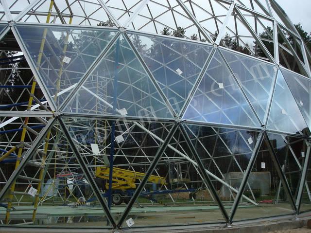 Защитный купол F8 для 14-метровой пирамиды 20