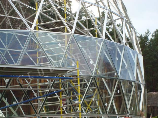Защитный купол F8 для 14-метровой пирамиды 21