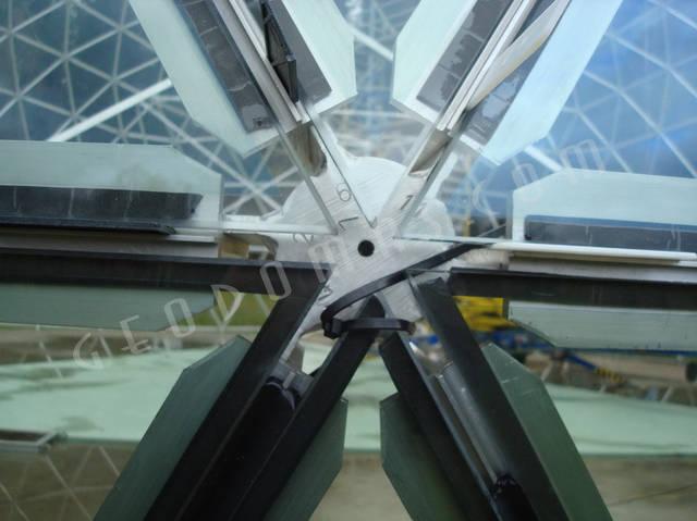 Защитный купол F8 для 14-метровой пирамиды 22