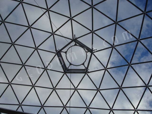 Защитный купол F8 для 14-метровой пирамиды 23