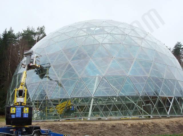 Защитный купол F8 для 14-метровой пирамиды 25