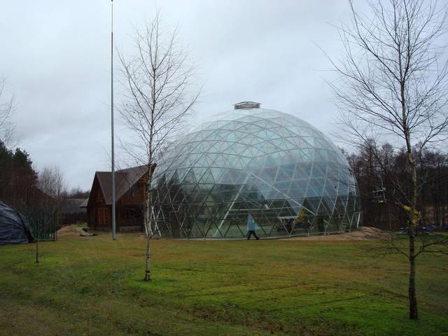 Защитный купол F8 для 14-метровой пирамиды 26