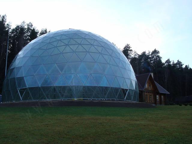 Защитный купол F8 для 14-метровой пирамиды 27