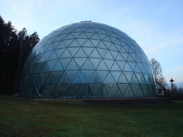 Защитный купол F8 для 14-метровой пирамиды 28