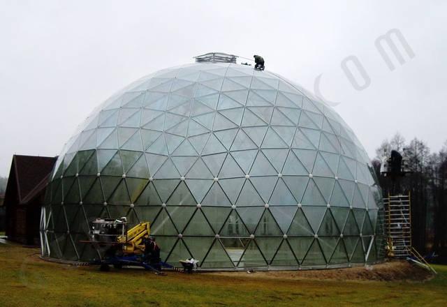 Защитный купол F8 для 14-метровой пирамиды 30