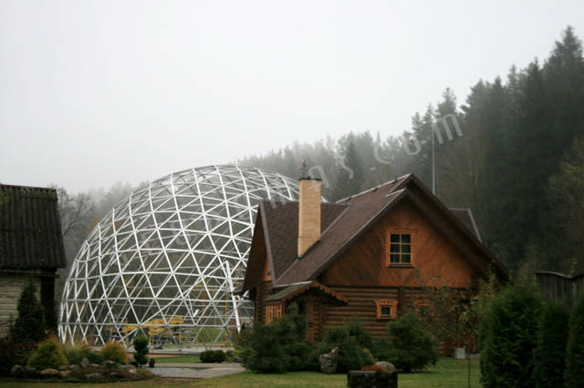 Защитный купол F8 для 14-метровой пирамиды 33