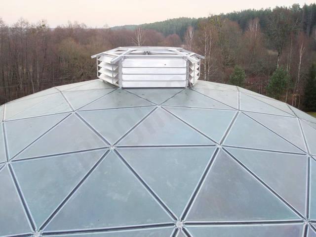Защитный купол F8 для 14-метровой пирамиды 39