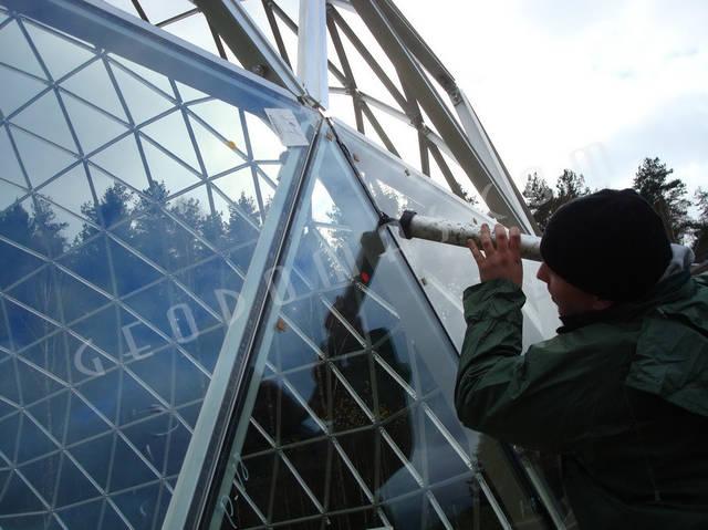 Защитный купол F8 для 14-метровой пирамиды 3