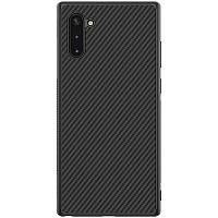 Карбоновая накладка Nillkin Synthetic Fiber series для Samsung Galaxy Note 10