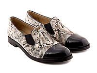 Туфли Etor 4920-525-1044 39 бежевые, фото 1
