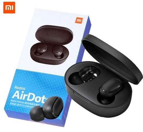 Гарнитура Bluetooth AirDots Redmi с кейсом для подзарядки сяоми редми аирдотс