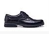 Мужские кожаные туфли City USA black черные
