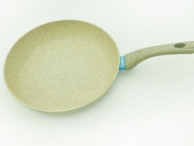 """Сковорода для жарки 28х5,7 см с индукционным дном Fissman """"White Stone"""" (AL-4984.28)"""