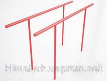 Гімнастичний елемент Бруси паралельні висота 1.5 м. для спортивних майданчиків KidSport