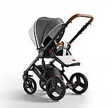 Универсальная детская коляска Verdi Orion 2 в 1 White&Jeans, фото 3