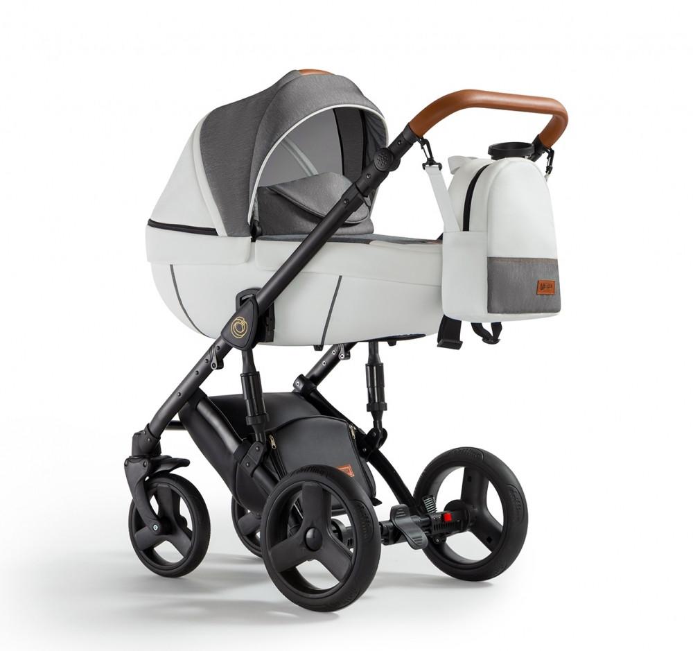 Универсальная детская коляска Verdi Orion 2 в 1 White&Jeans