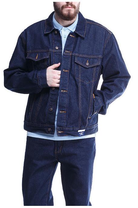 Джинсовая куртка Montana 12065 RW темно-синяя