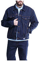 Джинсовая куртка Montana 12065 RW темно-синяя 3XL