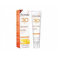 Спрей солнцезащитный SPF 30 органический Acorelle, 100 мл